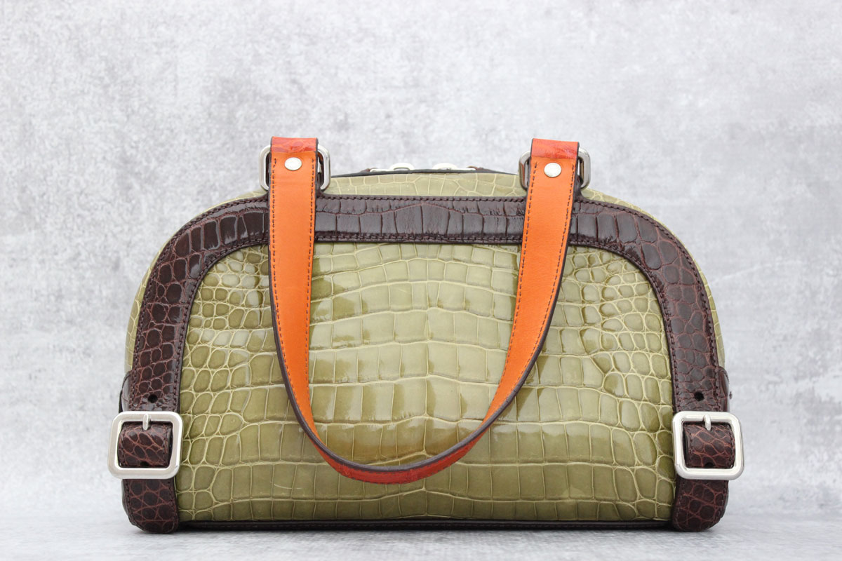 Prada Exotic Crocodile Colour Buckles Bag at Jill s Consignment 87bb7f6543d40