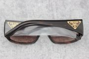 Prada Logo Sunglasses Tortoise Brown