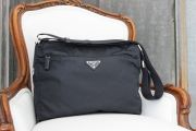 Prada Navy Blue Nylon Crossbody Messenger