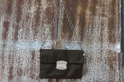 Prada Dark Olive Nylon Shoulder Bag - Clutch