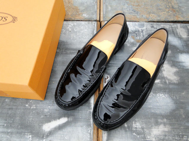 Tod's Patent leather loafers POa9x1xp