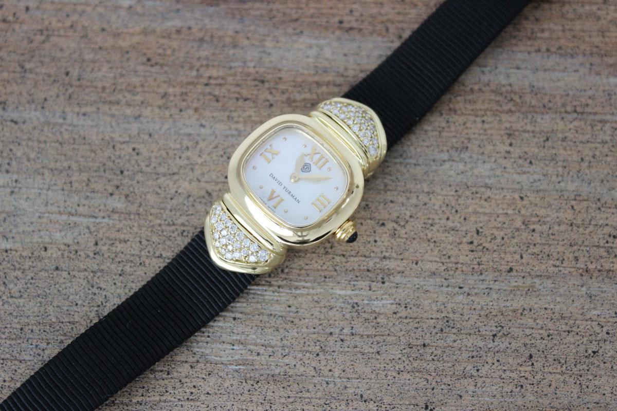 David Yurman 18k Gold Diamond Capri Watch At Jill S